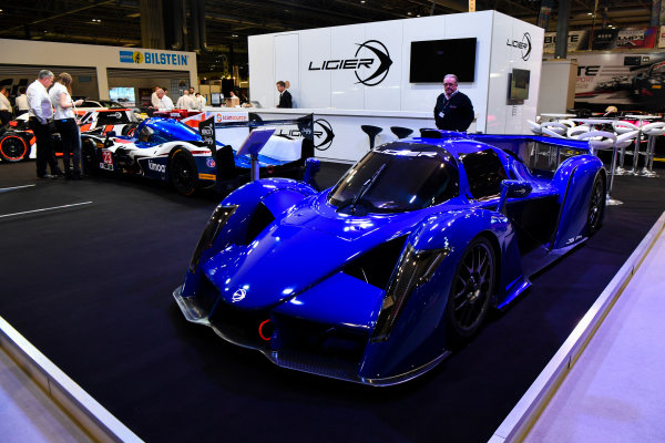 Autosport International Exhibition. National Exhibition Centre, Birmingham, UK. Thursday 11th January 2017. The Ligier stand.World Copyright: Mark Sutton/Sutton Images/LAT Images Ref: DSC_6949