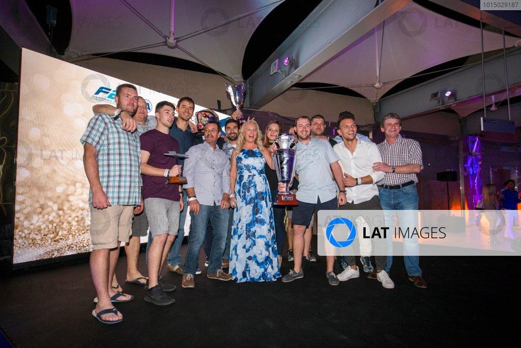 2017 Awards Evening. Yas Marina Circuit, Abu Dhabi, United Arab Emirates. Sunday 26 November 2017.  Photo: Zak Mauger/FIA Formula 2/GP3 Series. ref: Digital Image _X0W0278