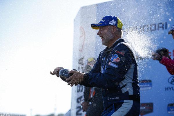 #11: WIN Autosport ORECA LMP2 07, LMP2: Steven Thomas, Tristan Nunez, Champagne