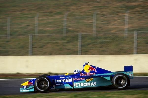 Kimi Raikkonen (FIN) Sauber  Formula One Testing - Barcelona, Spain - 18-20  December 2000