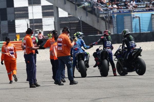 Race winner Fabio Quartararo, Yamaha Factory Racing.