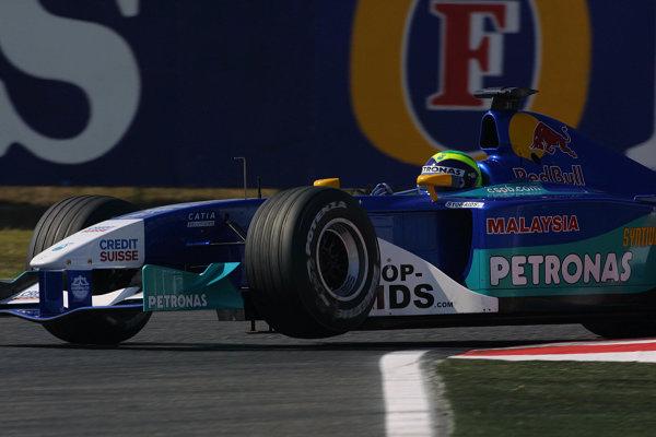 2002 Japanese Grand Prix.Suzuka, Japan. 11-13 October 2002.Felipe Massa (Sauber C21 Petronas).World Copyright - LAT Photographicref: Digital Image Only