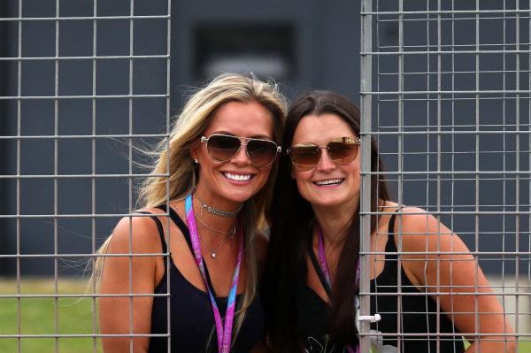 Girls at Formula One World Championship, Rd10, British Grand Prix, Race, Silverstone, England, Sunday 16 July 2017.