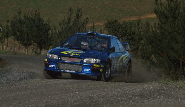 2000 World Rally ChampionshipRound 8, New Zealand Rally14th -16th July 2000Juha Kankkunen - Subaru.World - Mcklein / LAT Photographic