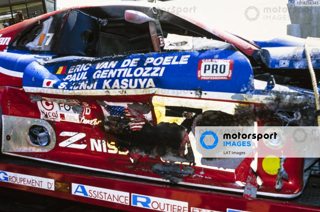 Eric van de Poele / Paul Gentilozzi / Syunji Kasuya, Clayton Cunningham Racing Inc, Nissan 300 ZX V6 - Nissaan VRH35.