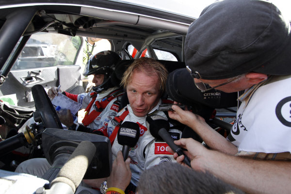 Round 04 Rally Jordan. 14th-16th April 2011.Petter Solberg, Citroen WRC, Portrait.Worldwide Copyright: McKlein/LAT