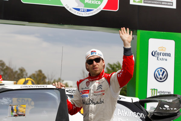 2013 World Rally Championship Rally Mexico 7th - 10th March 2013 Chris Atkinson, Citroen, Podium Worldwide Copyright: McKlein/LAT