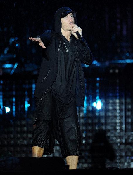 Eminen (USA), Rapper.F1 Rocks With LG, Sao Paulo, Brazil, 6-7 November 2010.