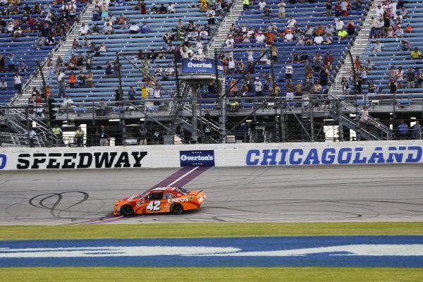 #42: Kyle Larson, Chip Ganassi Racing, Chevrolet Camaro ENEOS wins