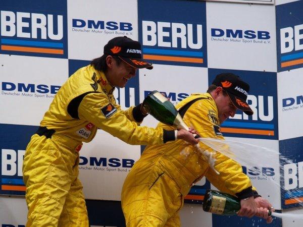 L-R: Ho-Pin Tung (CHN) and Ferdinand Kool (NL) JB Motorsport.Recaro Formel 3 Cup, Rd9, Salzburgring, Austria, 16-17 September 2006.DIGITAL IMAGE