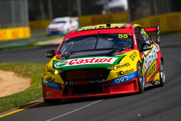 2017 Supercars Championship, Australian Grand Prix Support Race, Albert Park, Victoria, Australia. Thursday March 23rd to Sunday March 26th 2017. Chaz Mostert drives the #55 Supercheap Auto Racing Ford Falcon FGX. World Copyright: Daniel Kalisz/LAT Images Ref: Digital Image 230217_VASCAUSGP_DKIMG_0372.JPG