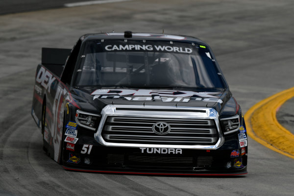 NASCAR Camping World Truck Series Alpha Energy Solutions 250 Martinsville Speedway, Martinsville, VA USA Friday 31 March 2017 Harrison Burton World Copyright: Scott R LePage/LAT Images ref: Digital Image lepage-170331-mv-0353