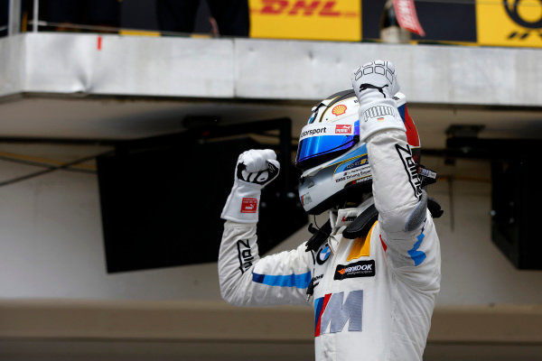 Race winner Marco Wittmann, BMW Team RMG.