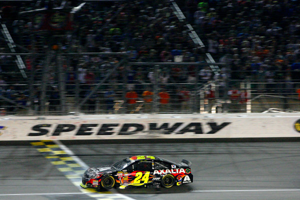9-10 May, 2014, Kansas City, Kansas USA Jeff Gordon ©2014, Russell LaBounty LAT Photo USA