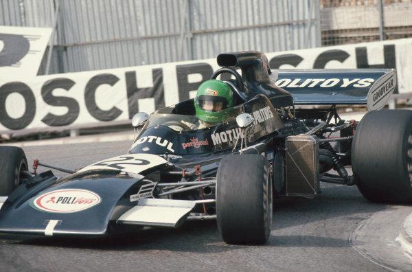 1972 Monaco Grand Prix.  Monte Carlo, Monaco. 11-14th May 1972.  Henri Pescarolo, March 721 Ford.  Ref: 72MON48. World Copyright: LAT Photographic