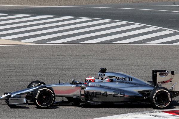 Formula One Testing, Day One, Bahrain International Circuit, Sakhir, Bahrain, Wednesday 19 February 2014.