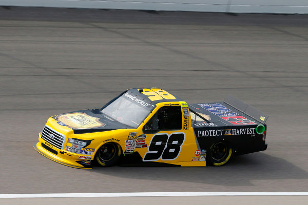 #98: Grant Enfinger, ThorSport Racing, Ford F-150 Protect The Harvest/Curb Records