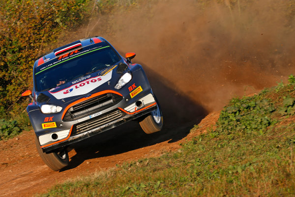 2015 World Rally Championship  Round 12, Rally of Spain, Catalunya 22nd - 25th October, 2015 Robert Kubica, Ford, action  Worldwide Copyright: McKlein/LAT
