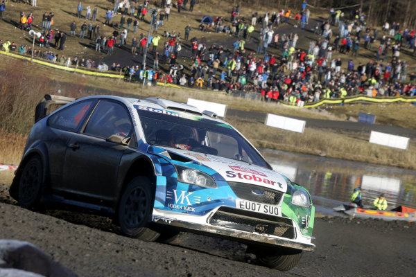 Round 15, Wales Rally GB, 4th-7th December 2008 Rossi, Ford, Action Worldwide Copyright: McKlein/LAT