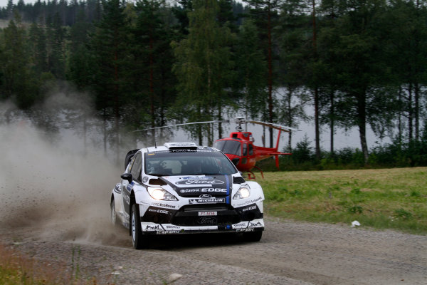 Round 08-Neste Rally Finland 1/8-4/8 2012.Jari-Matti Latvala, Ford WRC, Action.Worldwide Copyright: McKlein/LAT