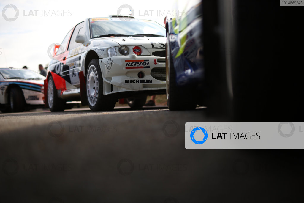 2017 Goodwood Festival of Speed. Goodwood Estate, West Sussex, England. 30th June - 2nd July 2017. ex Carlos Sainz Ford Escort WRC  World Copyright : JEP/LAT Images