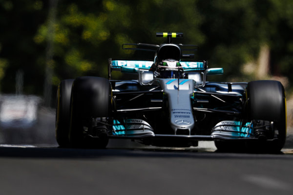 Baku City Circuit, Baku, Azerbaijan. Friday 23 June 2017. Valtteri Bottas, Mercedes F1 W08 EQ Power+.  World Copyright: Glenn Dunbar/LAT Images ref: Digital Image _X4I9853