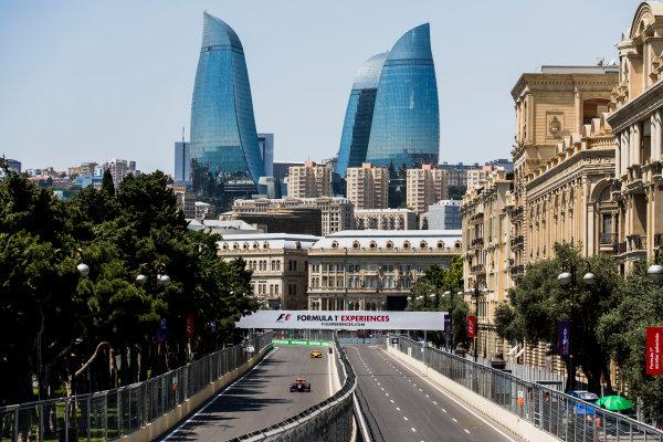 2017 FIA Formula 2 Round 4. Baku City Circuit, Baku, Azerbaijan. Friday 23 June 2017. Johnny Cecotto Jr. (VEN, Rapax)  Photo: Zak Mauger/FIA Formula 2. ref: Digital Image _56I6690