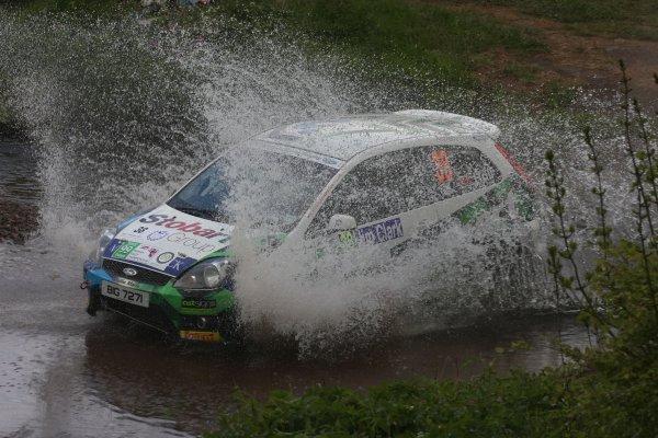 2008 British Rally Championship,Jim Clark Rally, 23rd-25th May 2008,Kris HallWorld Copyright: Ebrey/LAT Photographic.