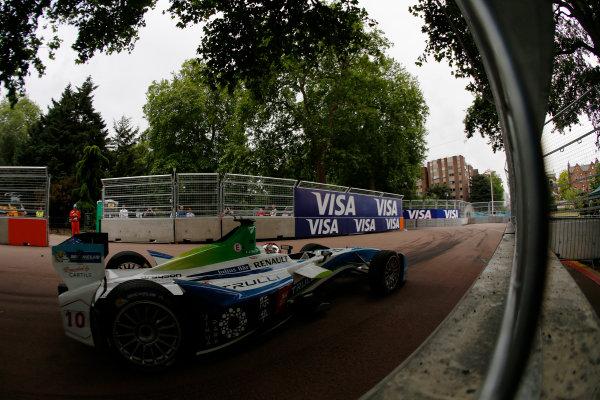 2014/2015 FIA Formula E Championship. London ePrix, Battersea Park, London, United Kingdom. Jarno Trulli (ITA)/Trulli Racing - Spark-Renault SRT_01E Sunday 28 June 2015 Photo: Zak Mauger/LAT/Formula E ref: Digital Image _L0U9962