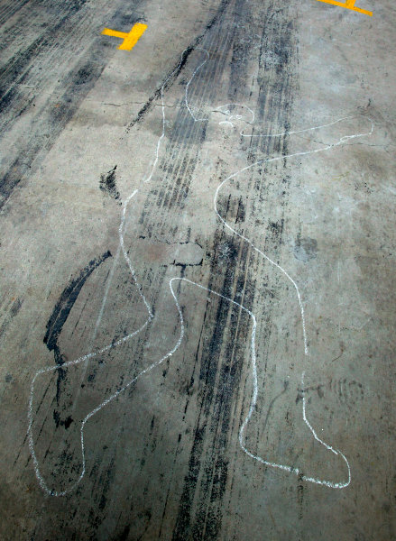 2004 Australian V8 SupercarsSymmons Plain Raceway, Tasmania. November 14th.An accident in the pits?!World Copyright: Mark Horsburgh/LAT Photographicref: Digital Image Only