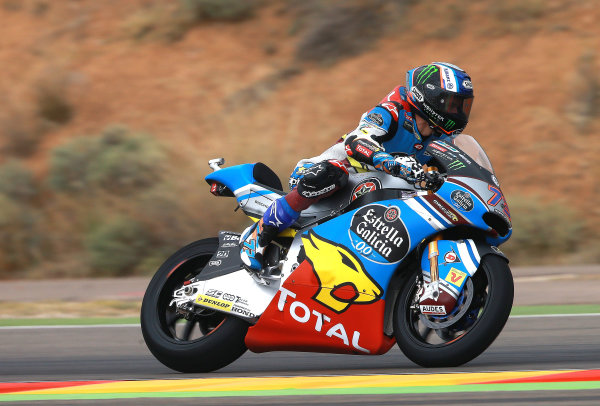 2017 Moto2 Championship - Round 14 Aragon, Spain. Friday 22 September 2017 Alex Marquez, Marc VDS World Copyright: Gold and Goose / LAT Images ref: Digital Image 693605