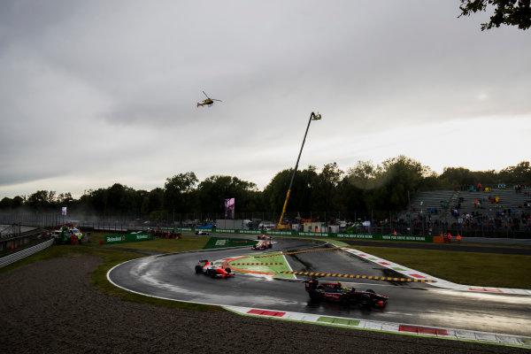 2017 FIA Formula 2 Round 9. Autodromo Nazionale di Monza, Monza, Italy. Saturday 2 September 2017. Roberto Merhi (ESP, Rapax).  Photo: Zak Mauger/FIA Formula 2. ref: Digital Image _T9I9884