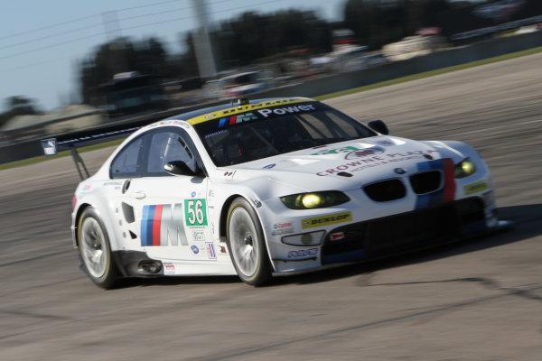 Sebring, Florida, USA. 15th-17th March 2012,Joey Hand/Dirk Muller/Jonathan Summerton - BMW Team RLL BMW E92 M3World Copyright: Ebrey/LAT Photographic.