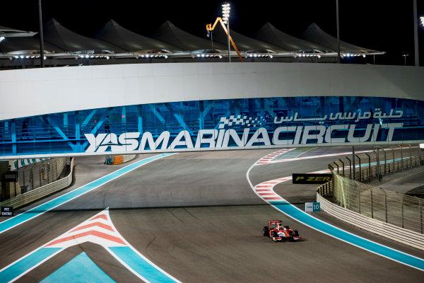 2017 FIA Formula 2 Round 11. Yas Marina Circuit, Abu Dhabi, United Arab Emirates. Friday 24 November 2017. Charles Leclerc (MCO, PREMA Racing).  Photo: Zak Mauger/FIA Formula 2. ref: Digital Image _56I1045