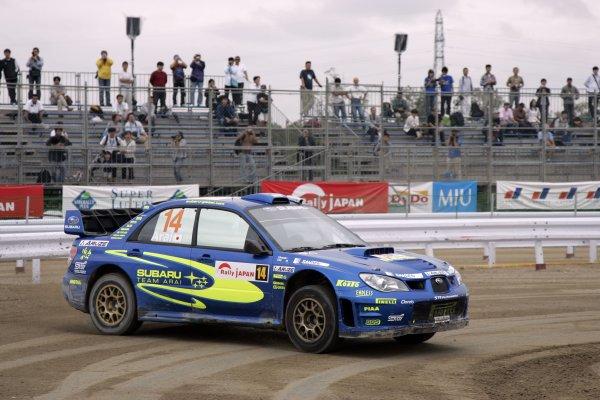 2006 FIA World Rally Champs. Round 6Rally Japan. 1st-3rd September 2006Toshihiro Arai, Subaru, actionWorld Copyright: McKlein/LAT