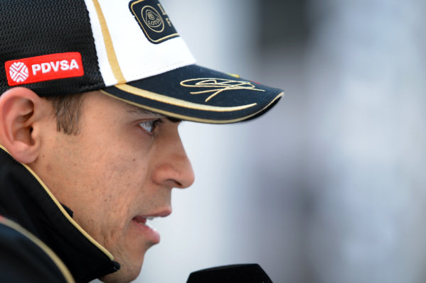 Pastor Maldonado (VEN) Lotus at Formula One World Championship, Rd1, Australian Grand Prix, Race, Albert Park, Melbourne, Australia, Sunday 15 March 2015.