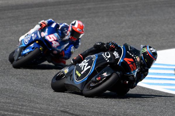 2017 Moto2 Championship - Round 4 Jerez, Spain Sunday 7 May 2017 Francesco Bagnaia, Sky Racing Team VR46 World Copyright: Gold & Goose Photography/LAT Images ref: Digital Image 16375