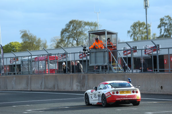 2017 Ginetta Racing Drivers Club + Oulton Park, Cheshire. 15th April 2017. Michael Crees Ginetta G40. World Copyright: JEP/LAT Images.