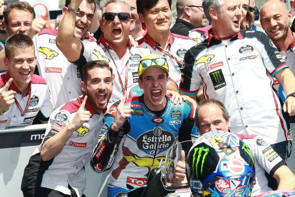 2017 Moto2 Championship - Round 4 Jerez, Spain Sunday 7 May 2017 Race winner Alex Marquez, Marc VDS World Copyright: Gold & Goose Photography/LAT Images ref: Digital Image 668727