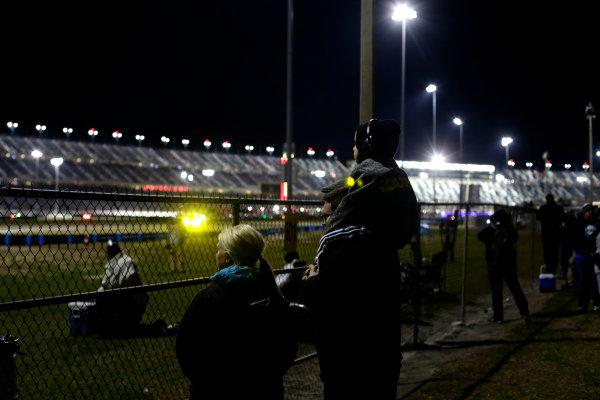 2017 Rolex 24 Hours. Daytona, Florida, USA Saturday 28 January 2017. Fans at the infield World Copyright: Alexander Trienitz/LAT Images ref: Digital Image 2017-24h-Daytona-AT1-4106