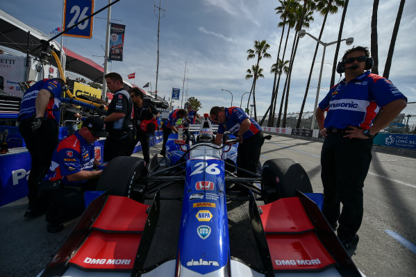 2017 Verizon IndyCar Series Toyota Grand Prix of Long Beach Streets of Long Beach, CA USA Friday 7 April 2017 Takuma Sato World Copyright: Scott R LePage/LAT Images ref: Digital Image lepage-170407-LB-0757