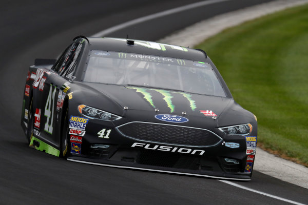 Monster Energy NASCAR Cup Series Brickyard 400 Indianapolis Motor Speedway, Indianapolis, IN USA Saturday 22 July 2017 Kurt Busch, Stewart-Haas Racing, Ford Fusion World Copyright: Michael L. Levitt LAT Images