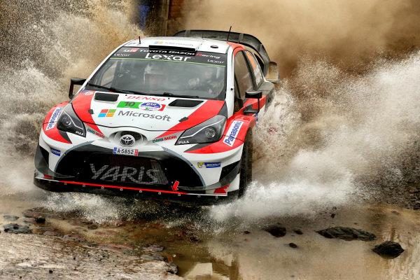 Jari-Matti Latvala (FIN) / Miikka Anttila (FIN), Toyota Gazoo Racing Toyota Yaris WRC at World Rally Championship, Rd3, Rally Mexico, Preparations and Shakedown, Leon, Mexico, 8 March 2017.
