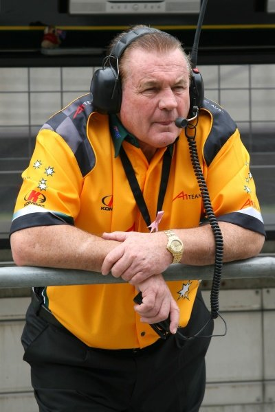 Alan Jones (AUS), Seat Holder of A1 Team Australia.