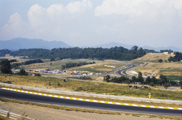 A view across the circuit.