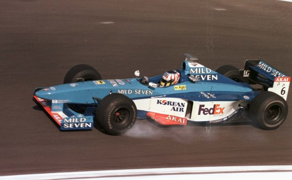 1998 San Marino Grand Prix.Imola, Italy.24-26 April 1998.Alexander Wurz (Benetton B198 Playlife).World Copyright - LAT Photographic