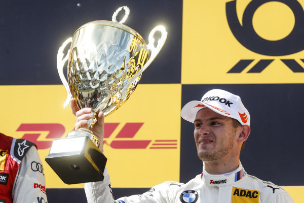 Podium: Second place Marco Wittmann, BMW Team RMG.