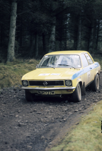 Per-Inge Walfridsson / John Jensen, Lancia Stratos HF.
