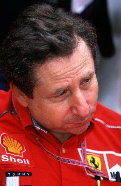 1999 Australian Grand Prix.Albert Park, Melbourne, Australia. 5-7 March 1999.Ferrari Team Principal Jean Todt.World Copyright - LAT Photographic
