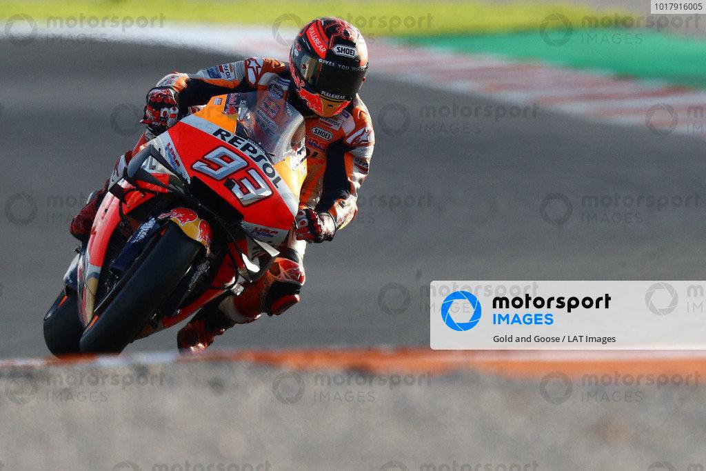 Valencia November testing